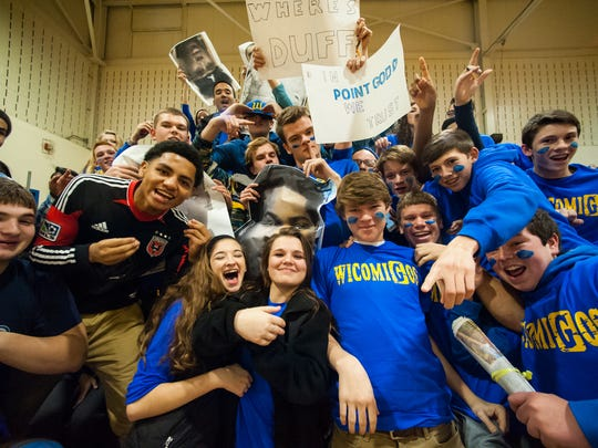FANS OF THE WEEK: Welcome to the club Wicomico. The Wicomigos cheered on their Indians adding yet another student section in the mix.