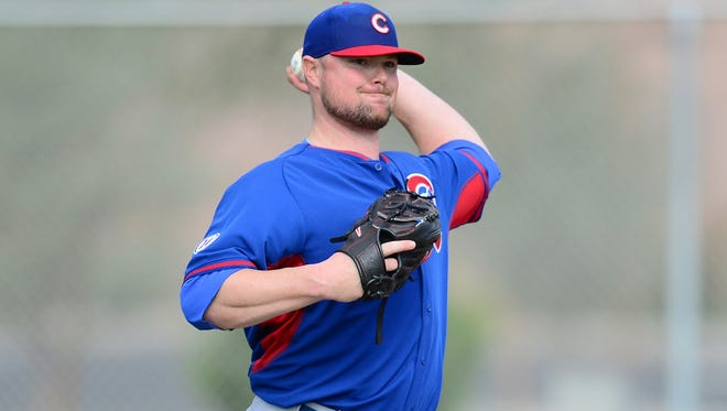 Jon Lester signed a six-year, $155 million contract with the Cubs.
