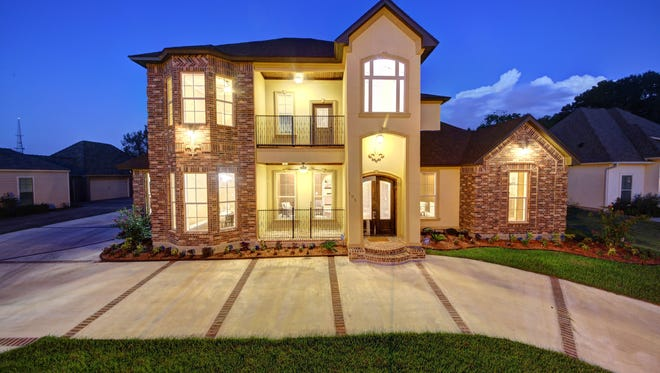 This 4 bedroom, 3 1/2 bath home is located at 105 Gated Trinity Court and is listed at $891,000.