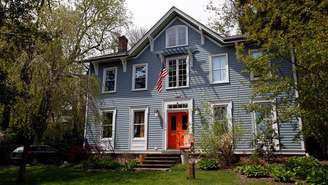 A four bedroom Colonial home for sale in Piermont April 28, 2016. The renovated house was built circa 1880 and is on the market for $1,095,000.