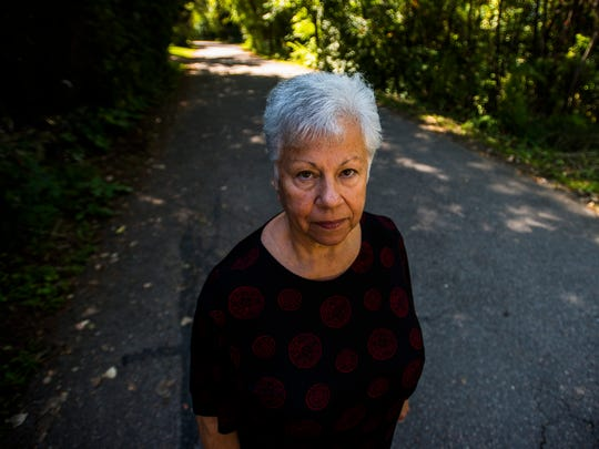 Since 1990, Joyce George has owned a summer camp on Mills Point in Colchester. Her neighborhood's private road has long enjoyed town plowing, something she says her home's value -- and subsequent taxes -- adequately pay for. She also says that, after decades of plowing, the town is obligated continue plowing.
