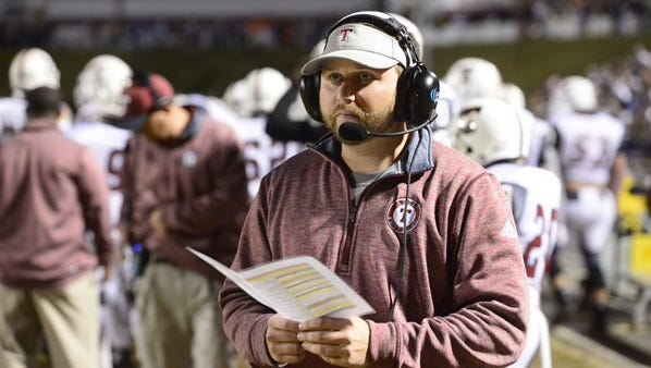 Tate football coach Jay Lindsey's team was forced to cancel its game against Crestview on Friday night due to the threat of Hurricane Irma.