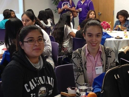 Students learn about college life at South Mountain
