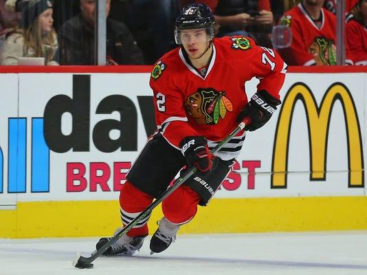 USP NHL: PITTSBURGH PENGUINS AT CHICAGO BLACKHAWKS S HKN USA IL