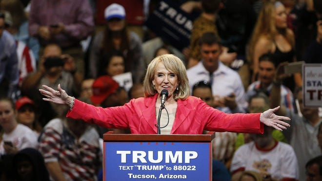Former Republican Arizona Gov. Jan Brewer hopes Trump will preserve Medicaid expansion under the Affordable Care Act.