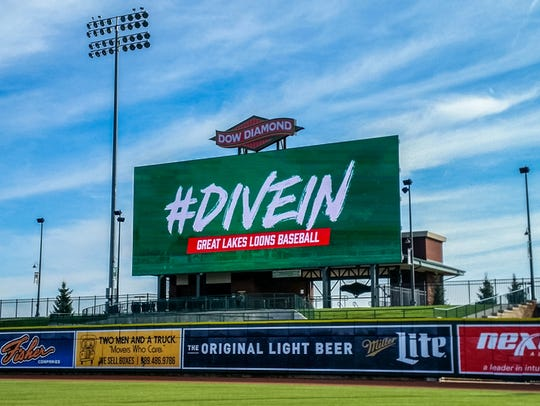 The Great Lakes Loons have installed a 2,500-square-foot
