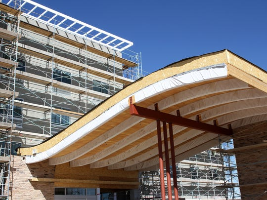 The new Fairfield Inn & Suites is expected to open on East Main Street in Farmington in June.