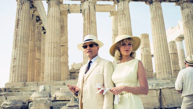 """Viggo Mortensen and Kirsten Dunst star as an American couple in Greece in the film """"The Two Faces of January."""""""