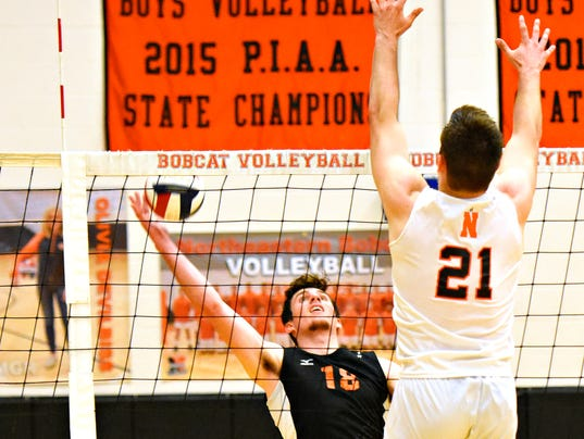 Central York vs Northeastern boys' volleyball