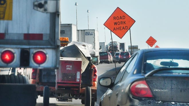 Officials estimate the project will be completed in October 2018. MDOT said there is a maximum $2 million incentive to finish the project early.