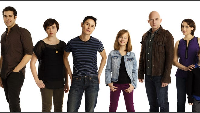 "This undated photo provided by the O&M Co. shows the cast of Fun Home. Broadway stars have joined together to sing and raise money to help the survivors of the gay nightclub shooting in Orlando. The cast and creative team from ""Fun Home"" will assemble for a one-night benefit concert version of the Tony Award-winning show on July 24, 2016 in Orlando for survivors and victims' family."