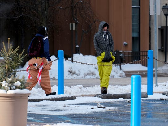 The cold weather in the Lansing area will continue
