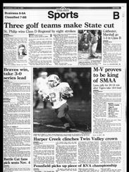 This Week In Sports History - Oct. 15, 1995