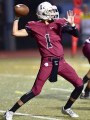 Milford senior Aiden Warzecha  was named to the All-Lakes Valley Football Team.