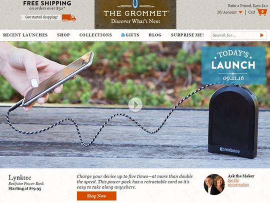Launched in 2008, the online retailer The Grommet now