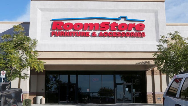 The RoomStores furniture chain has filed for bankruptcy protection.