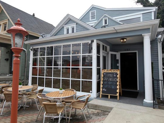 The Joy Luck restaurant. April 14, 2014