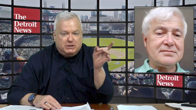 Bob Wojnowski, left, and Lynn Henning talk about the 2018 Tigers in The Detroit News' Tigers Baseball Show.