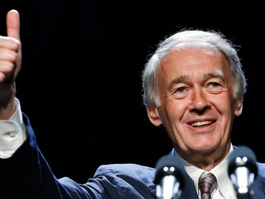 Democratic Sen. Ed Markey of Massachusetts has teamed up with freshman Democratic Rep. Alexandria Ocasio-Cortez of New York to create an environmental reform plan known as the Green New Deal.