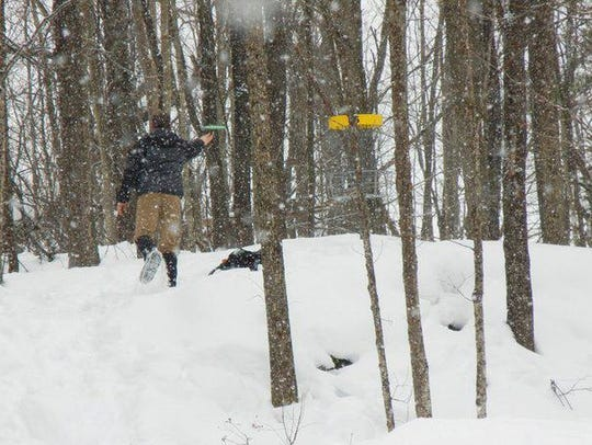 A participant at a previous Ice Bowl in Vermont.