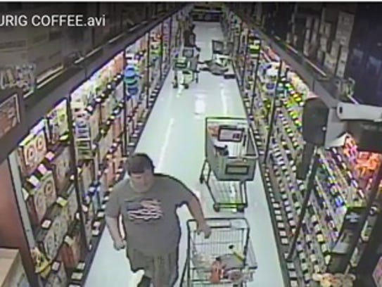 This man is wanted for assaulting a 71-year-old shopper