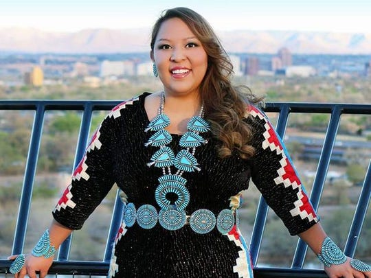 Waterflow native and former Miss Indian World Kansas Begaye will serve as mistress of ceremonies at the Totah Benefit Fashion Show this weekend at the Farmington Museum at Gateway Park.