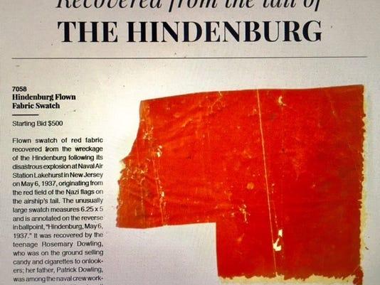 Hindenburg Swatch