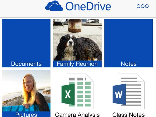 OneDrive on iPhone_TilesView