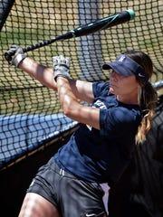 Nevada softball player Erika Hansen, an All-American