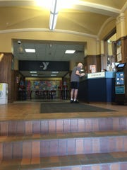The first-floor lobby of the Downtown YMCA in Green Bay will be reconfigured as part of an upcoming $12 million renovation.