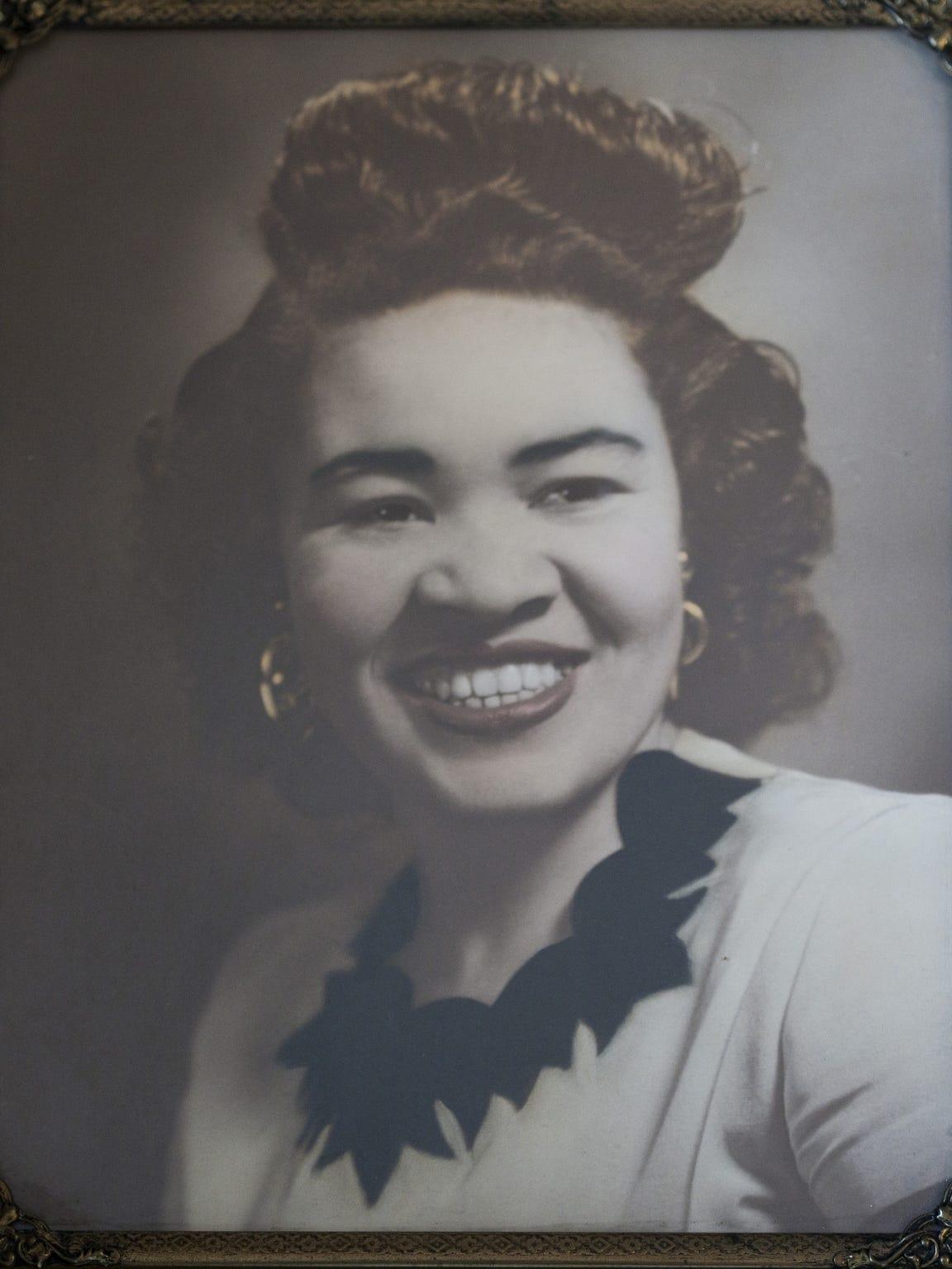 Mary Jean Price Walls' high school graduation photo.