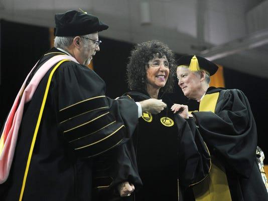James Lentini, Dr. Ora Hirsch Pescovitz, Richard DeVore