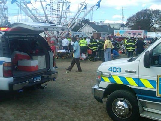 AP Festival Accident