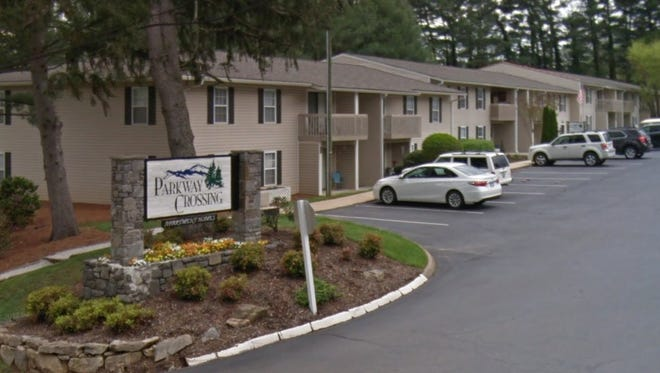 Parkway Crossing Apartments, an apartment complex in Asheville, sold this week for $27.3 million. The buyer is listed as Alta Parkway Crossing LLC, owned by NHE Inc. in Greenville, South Carolina.