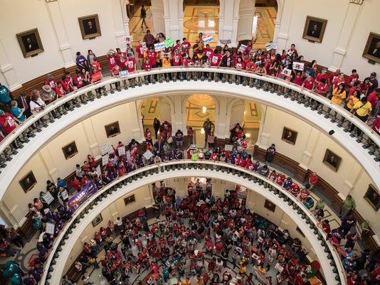 AP APTOPIX SANCTUARY CITIES TEXAS A USA TX