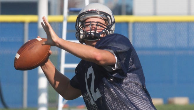Lacey Township High School quarterback Tom Kelly, file photo