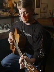Jim Carlson brings a folk/Americana vibe to his shows.