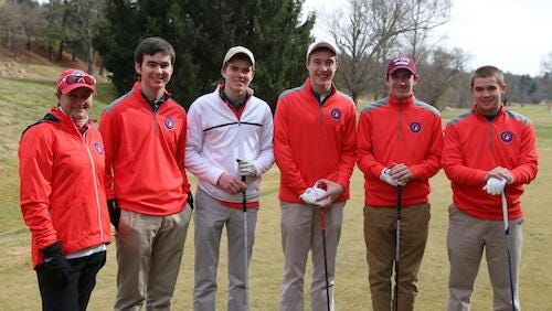 Carolina Day's golf team