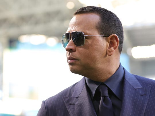 MIAMI, FLORIDA - FEBRUARY 02: Former baseball player Alex Rodriguez looks on before Super Bowl LIV at Hard Rock Stadium on February 02, 2020 in Miami, Florida. (Photo by Maddie Meyer/Getty Images) ORG XMIT: 775467142 ORIG FILE ID: 1203635723
