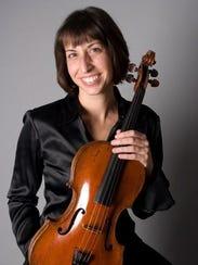 Peninsula Music Festival principal viola Joan DerHovsepian.