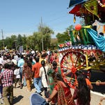 Rath Yatra, or chariot festival, a celebration of Indian culture, spirituality in Novi