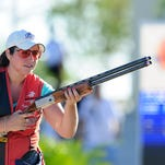 Winnfield native Caitlin Connor competes in the Skeet Women Finals in Acapulco. Connor won a spot on Team USA last week at Fort Benning.