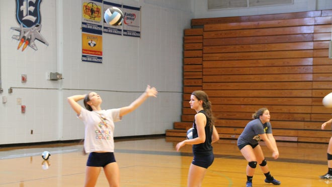 Enka is one of three Mountain Athletic Conference volleyball teams with a 5-1 record in the league.