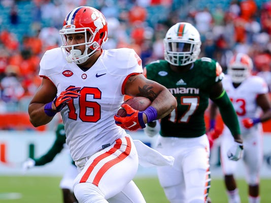 NCAA Football: Clemson at Miami