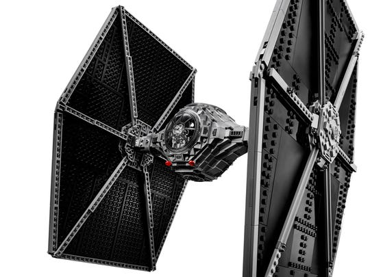 The new and bigger TIE Fighter joins other high-end