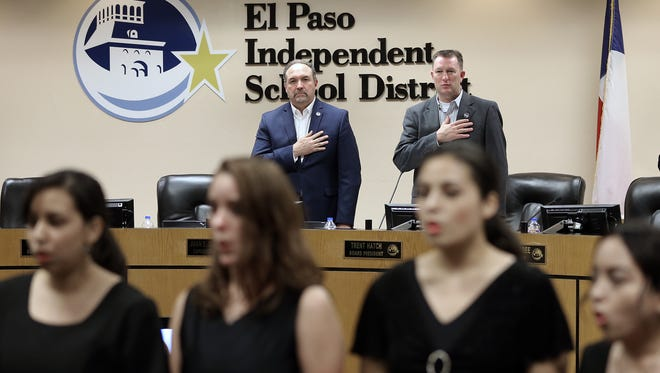 The El Paso Independent School District board of trustees at a meeting Thursday authorized taking more than $3 million out of its rainy day fund to pay for teacher training that was not included during the regular budget cycle.