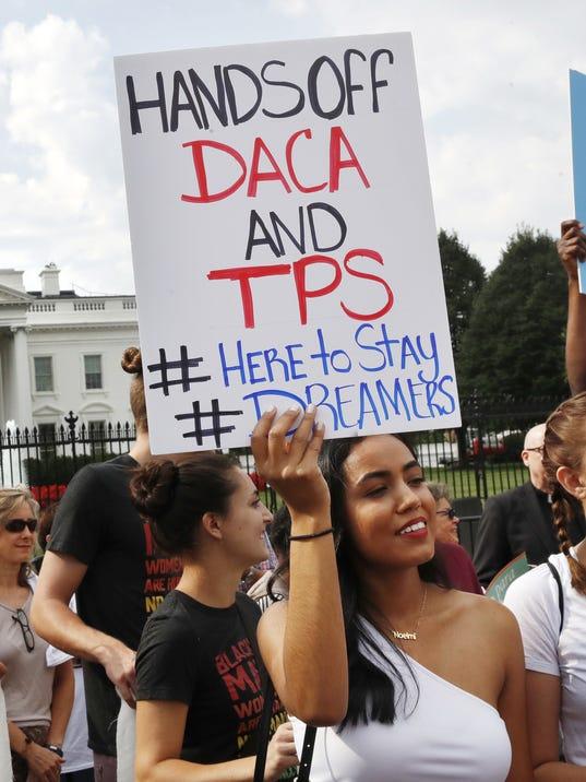 DACA, TPS protest