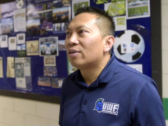 Tony Nguyen, University of West Florida's assistant