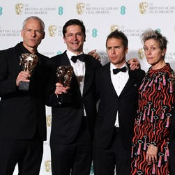 'Three Billboards' wins as women make waves at the BAFTA Awards