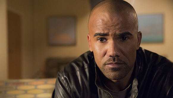 Shemar Moore on his last episode of 'Criminal Minds.'
